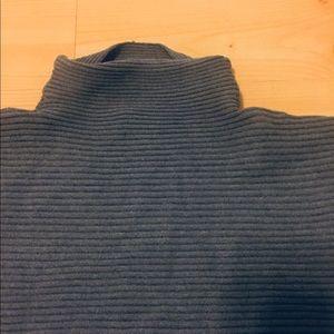 Gnw grey high neck sweater.